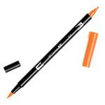 Feutre double pointe ABT Dual Brush Pen - 925 - Ecarlate