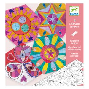 Coloriage surprise Mandala constellations