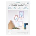 Kit papier Carte postale les cadres romantiques