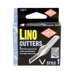 Gouge pour linogravure N1 - 5 pièces