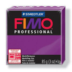 Pâte polymère Fimo Pro 85 g - 61 - Violet