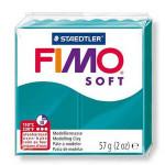 Pâte polymère Fimo Soft 57 g - 36 - Pétrole