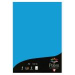Feuille faire part Pollen 120g 210 x 297mm par 50 - Bleu Turquoise