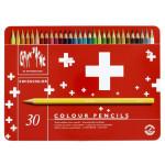 Crayons de couleur aquarellables Swisscolor - 30 pcs