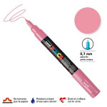 Marqueur pointe conique PC-1MC extra-fine 1mm - Rose clair
