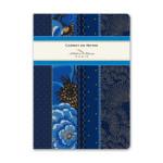 Carnet ligné 15 x 21 cm Soirs bleus