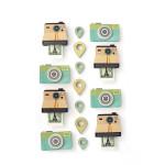 Stickers 3D thème polaroïd par 15