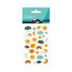 Stickers 3D Cooky Kawai météo