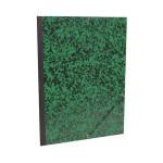 Carton à dessin Annonay vert à élastiques 28x38cm