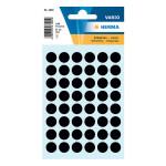 Etiquettes noires 12 mm par 240