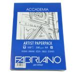 Papier dessin 200 g/m² ACCADEMIA 100 feuilles A4 21 x 29,7 cm