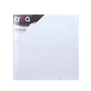 Châssis carré Mixte polyester + coton - 30 x 30 cm