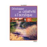 Livre Développer sa créativité à l'acrylique