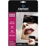 Papier photo brillant Ultimate A4 - 240 g/m² - 20 feuilles