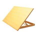 Table à dessin Pupitre en bois 50 x 75 cm
