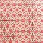 Papier Lokta 50 x 75 cm Rouge & Blanc 11