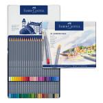 Crayon de couleur aquarellable GoldFaber Aqua - Boite de 48