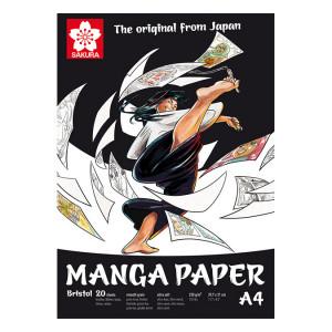 Papier en bloc spécial Manga - 14,8 x 21 cm (A5)