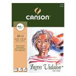 Bloc de papier Ingres Vidalon 100 g/m² - 24 x 32 cm