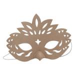 Masque bec en papier maché