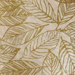 Papier Lokta Imprimé 50 x 75 cm Fontainebleau blanc