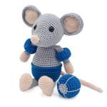 Crochet Kit Eddy la souris