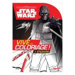 Carnet de coloriage Star Wars Voyage vers SW L'Ascension de Skywalker
