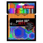 Feutre Pen 88 Set Arty 18 couleurs