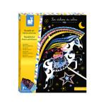 Kit Créatif Scratch Art Chevaux Et Licornes