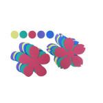 Formes en mousse Maxi fleurs 30 pcs