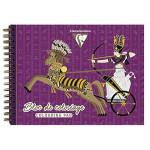Carnet de coloriage Égypte 20 feuilles 250 g/m²
