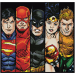 Broderie Diamant kit  expert DC Comics les 5 Fantastiques