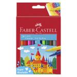 Feutre scolaire Château 24 couleurs
