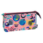 Trousse 5 compartiments Peacock rose