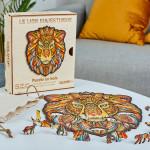 Puzzle en bois Le Lion Majestueux