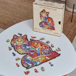 Puzzle en bois Le Tendre Chat