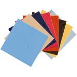 Papier Pellaq®  LEZARD 50 x 68 cm 188 g/m² - Bleu
